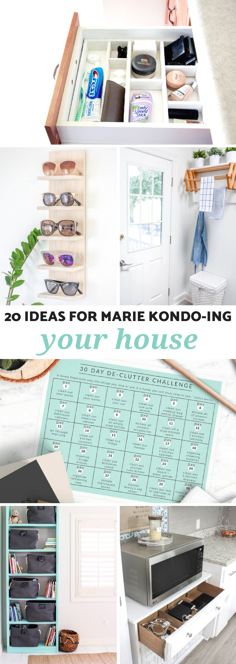Ideas for Marie Kondo-ing Your House