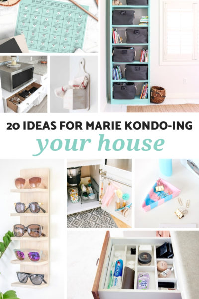 20 Ideas for Marie Kondo-ing Your House