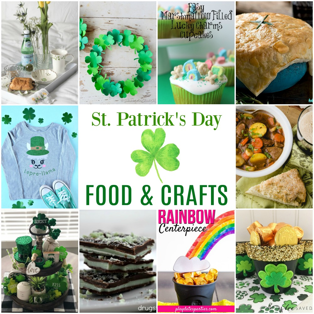 St. Patrick's Day Food & Crafts
