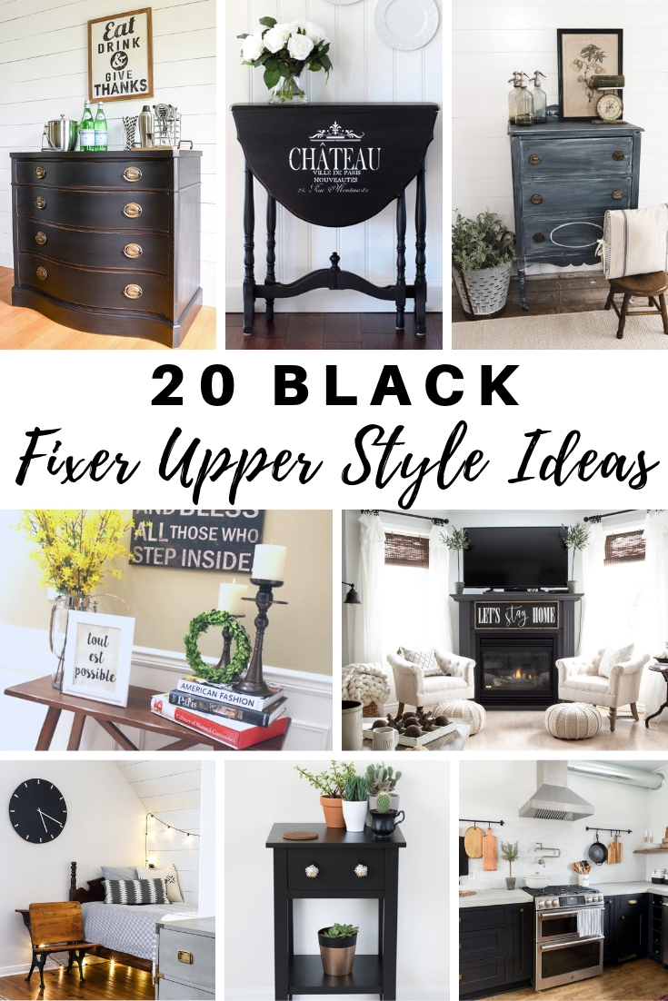 Black Fixer Upper Style Ideas