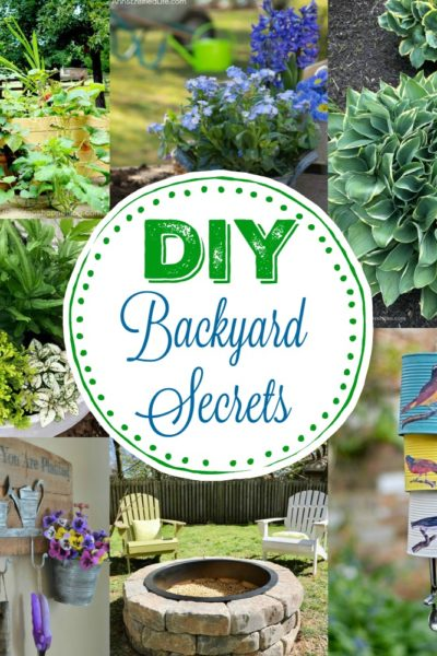7 Simple DIY Backyard Secrets
