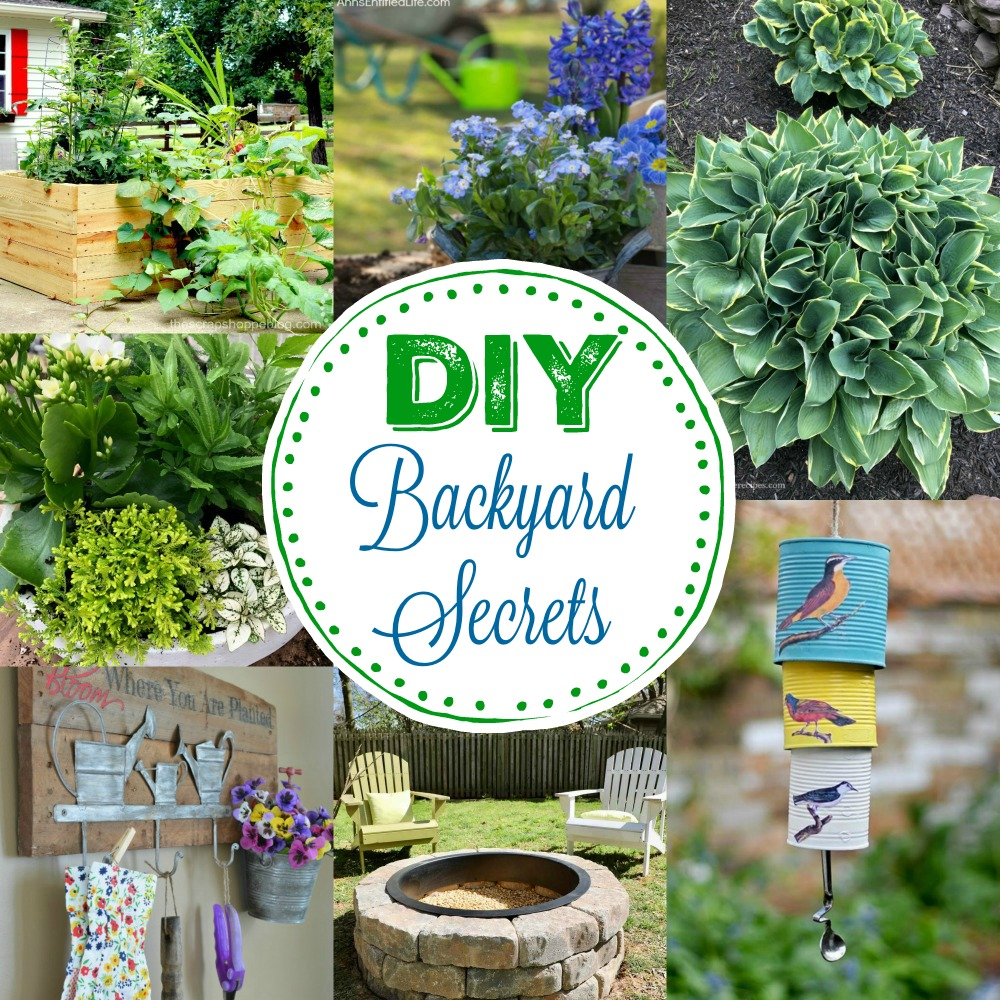 7 Simple DIY Backyard Secrets