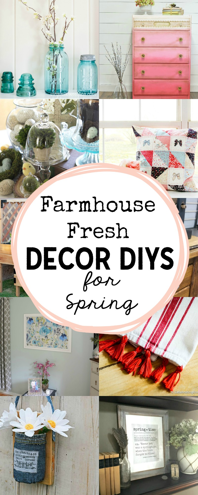 Farmhouse Fresh Decor DIYs for Spring