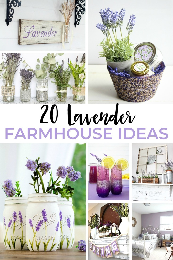 Lavender Farmhouse Ideas