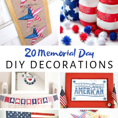 20 Memorial Day DIY Decorations