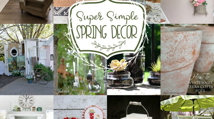 Super Simple Spring Decor