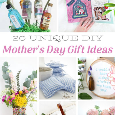 20 Unique DIY Mother's Day Gift Ideas