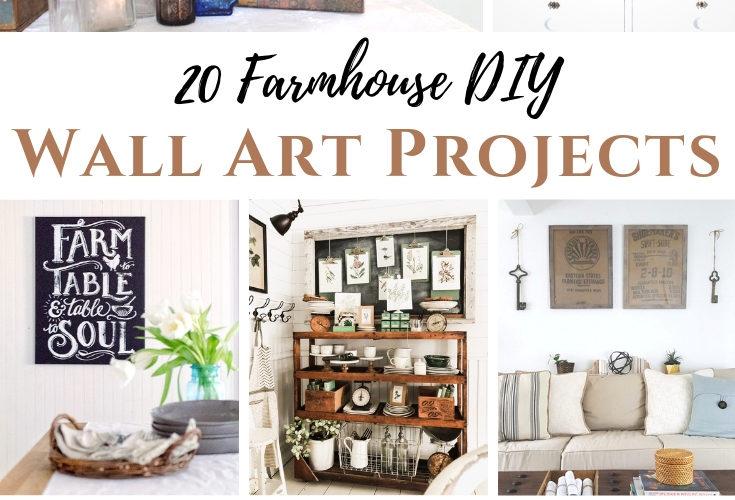 Farmhouse DIY Wall Art Projects