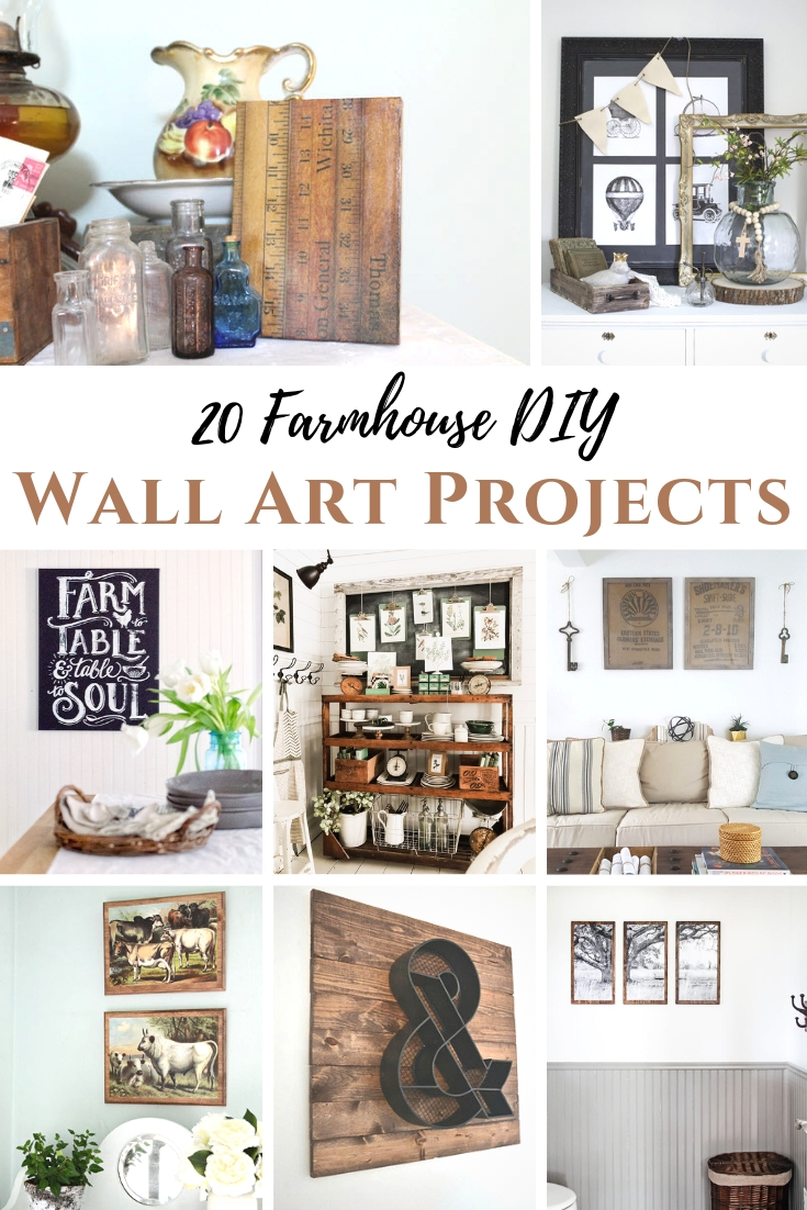 Farmhouse DIY Wall Art Projects