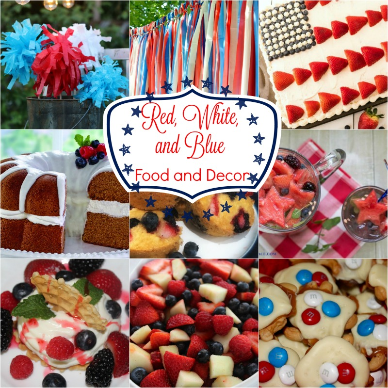 Red, White, and Blue Ideas