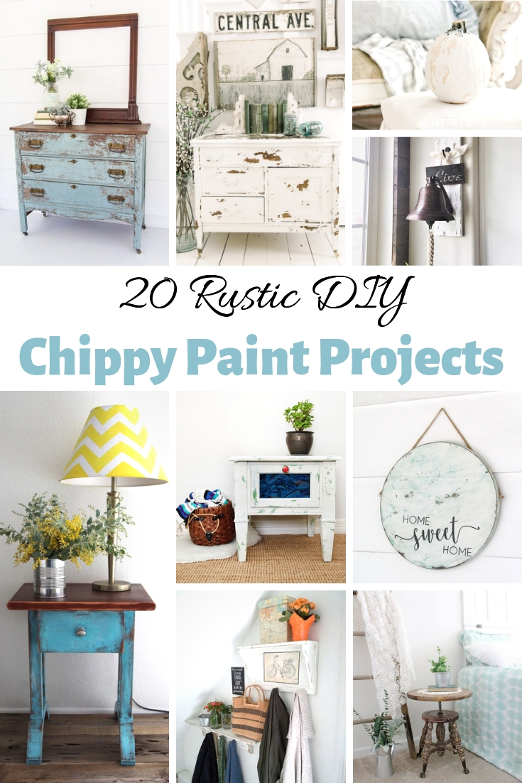 Rustic DIY Chippy Paint Projects