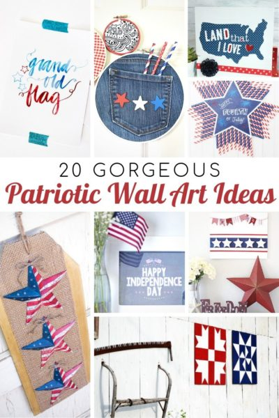 20 Gorgeous Patriotic Wall Ideas