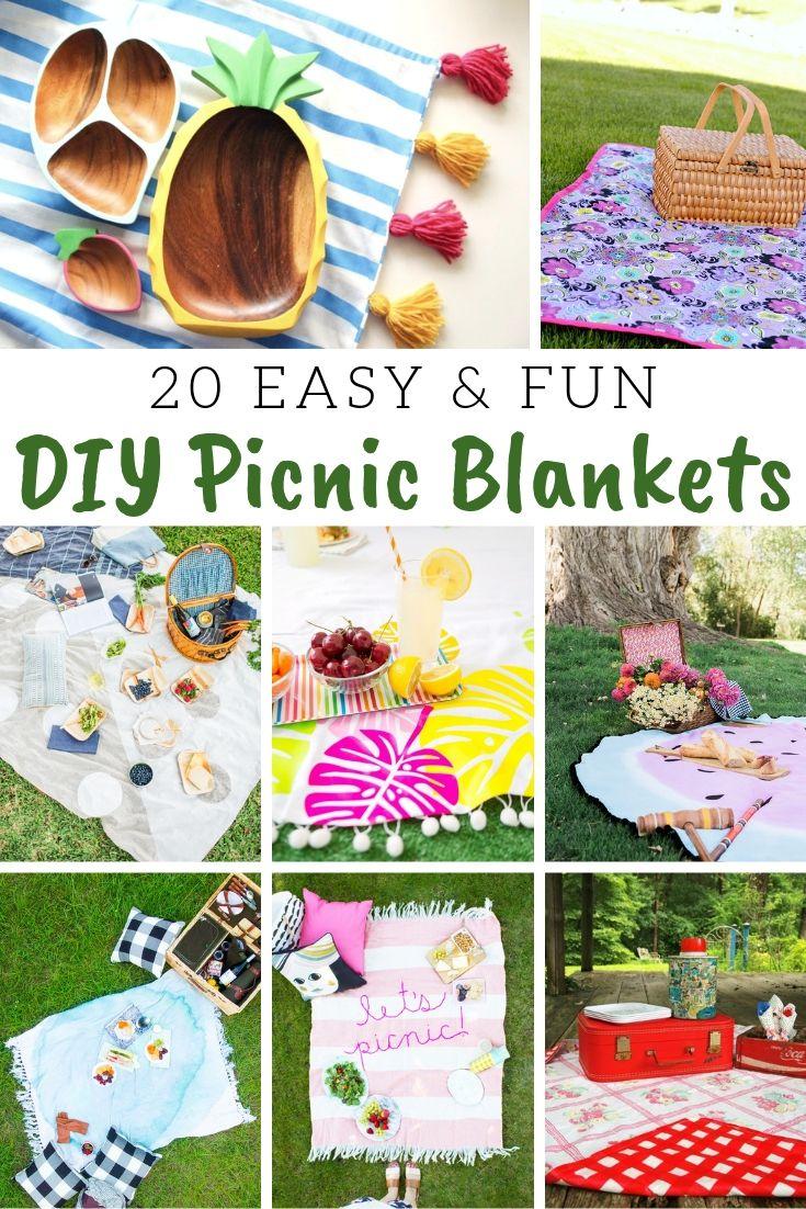 DIY Picnic Blankets