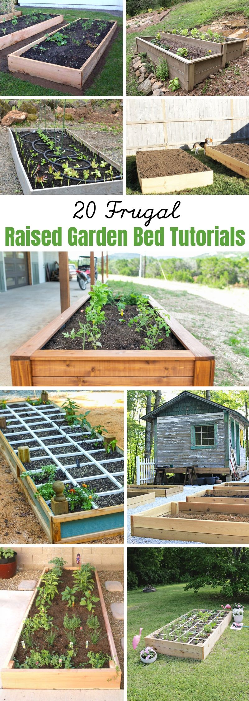 Raised Garden Bed Tutorials