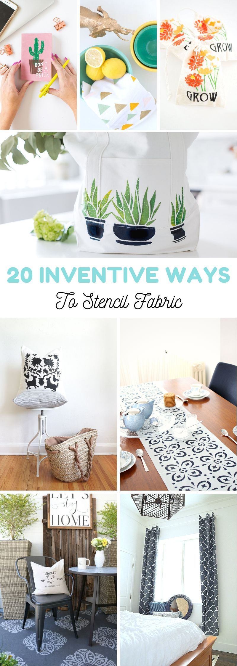 Ways To Stencil Fabric