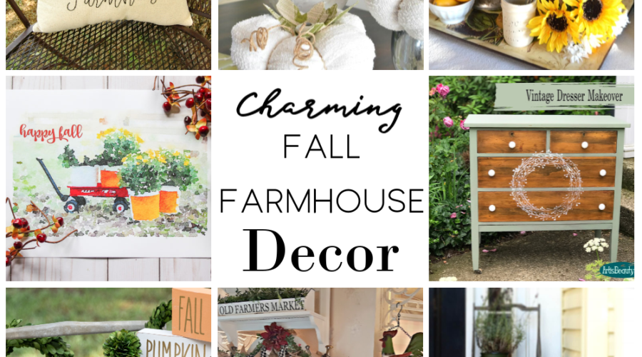 Charming Fall Farmhouse Decor
