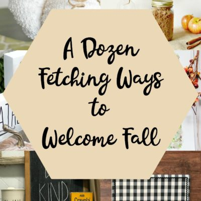 A Dozen Fetching Ways to Welcome Fall