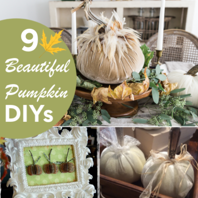 9 Beautiful Pumpkin DIYs