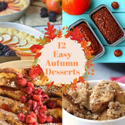 Easy Autumn Desserts