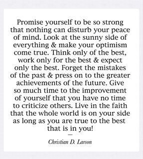 Promiseyourself