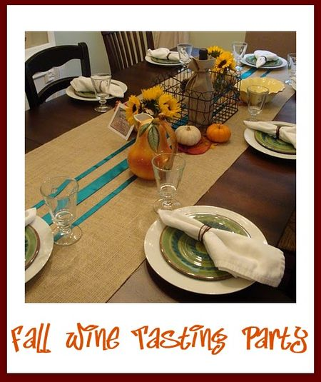 Fall Wine Tasting Party