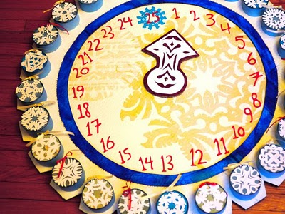 Advent Clock Calendar