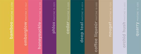 Pantone colors fall