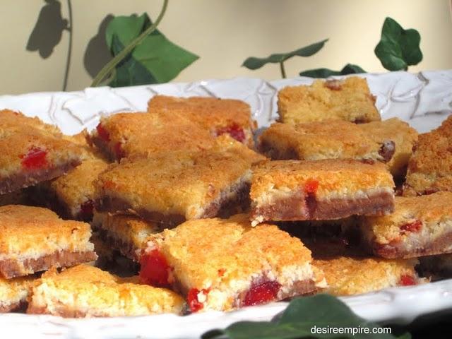 Cherry ripe Slice 6