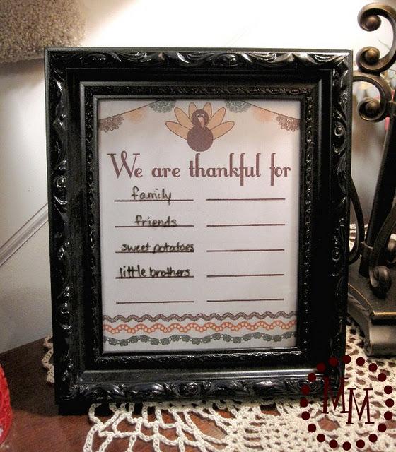 Thankful Printable 1