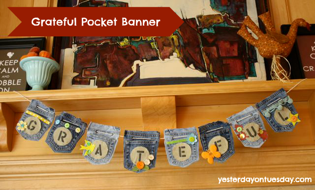Vintage YoT: Grateful Pocket Banner