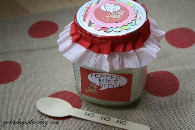 Peppermint Scrub Gift