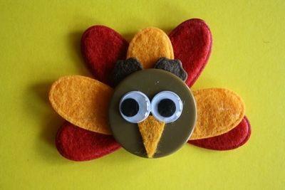 Vintage YoT: Quick Turkey Crafts