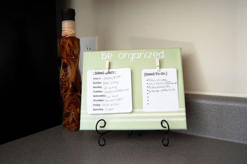 Be Organized canvas-2