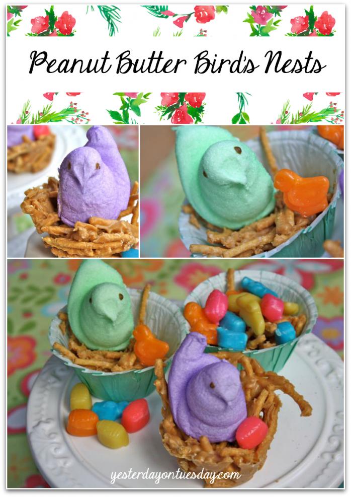 Peanut Butter Bird's Nests Recipe