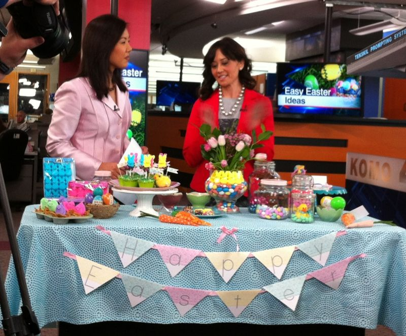 3 Steps to a Cheep Easter Centerpiece