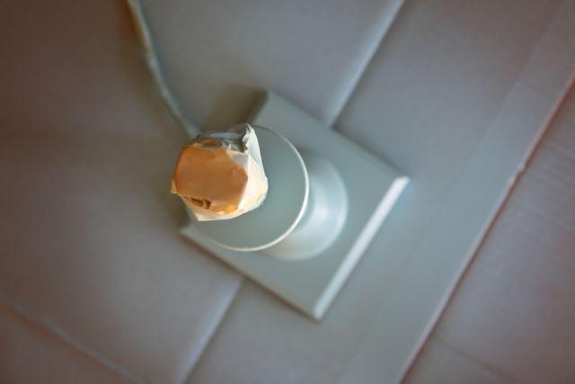 Butterfly lamp spraypaint