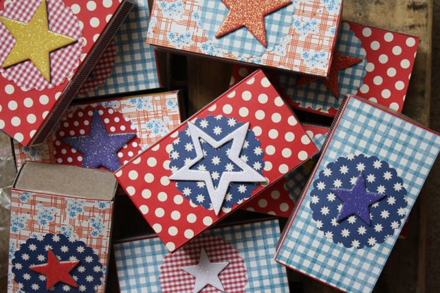 Yesterday on Tuesday-4th of July Favors