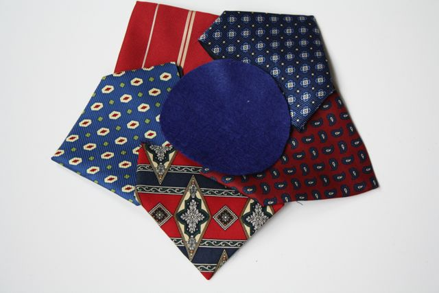 Necktie Wreath 3