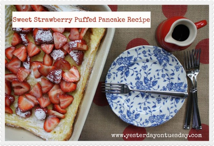 Puffed Pancake Recipe
