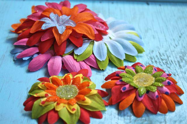 Fun Flip Flops Flowers-Yesterday on Tuesday