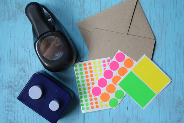 Neon Notes Supplies - Yesterday on Tuesday