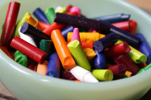 Unwrapped Crayons - Yesterday on Tuesday