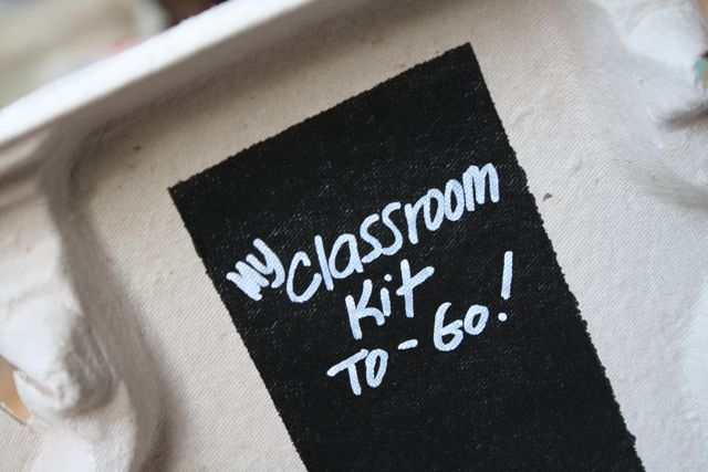 My Classroom Kit To Go - Yesterday on Tuesday