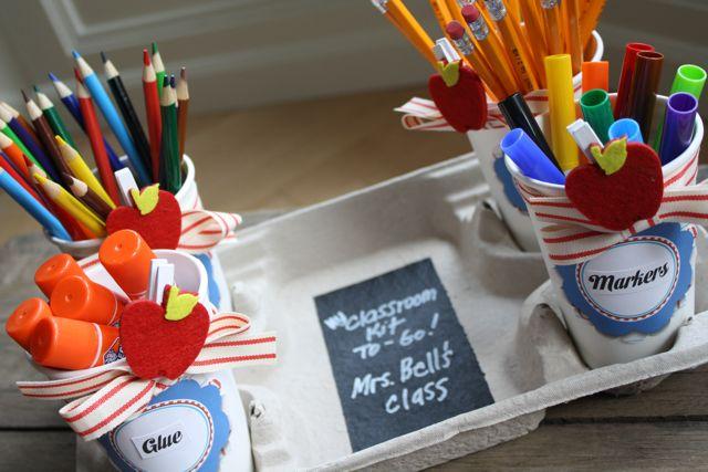 The Supplies Teacher's Classroom Kit To Go -