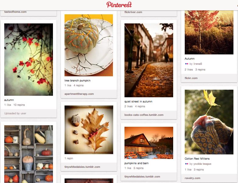 Autumn love board