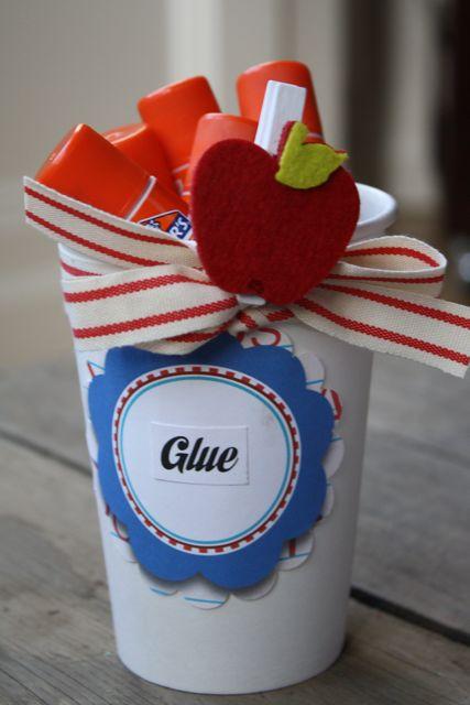 Glue Teacher's Supply Kit To Go - Yesterday on Tuesday