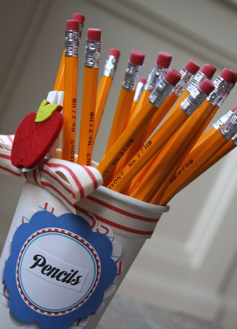 Pencils Teacher's Supply Kit To Go - Yesterday on Tuesday