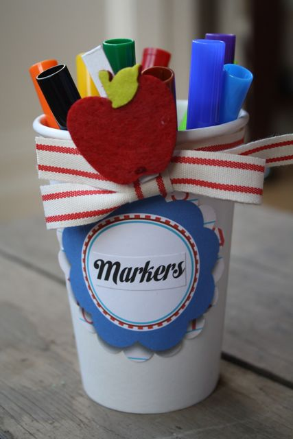 Markers Teacher's Supply Kit To Go - Yesterday on Tuesday