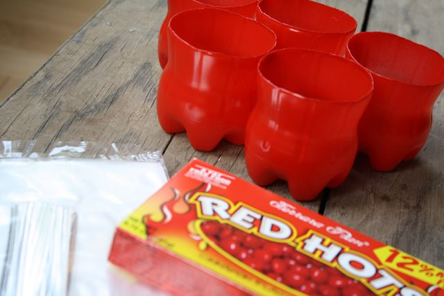 Red Hots Treat Cups - Yesterday on Tuesday