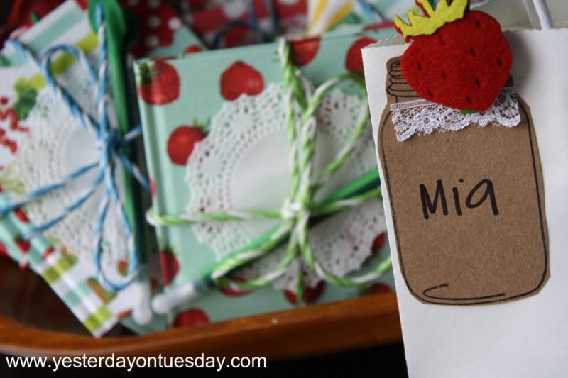 Mason Jar Tags - Yesterday on Tuesday #masonjars #masonjarstamp